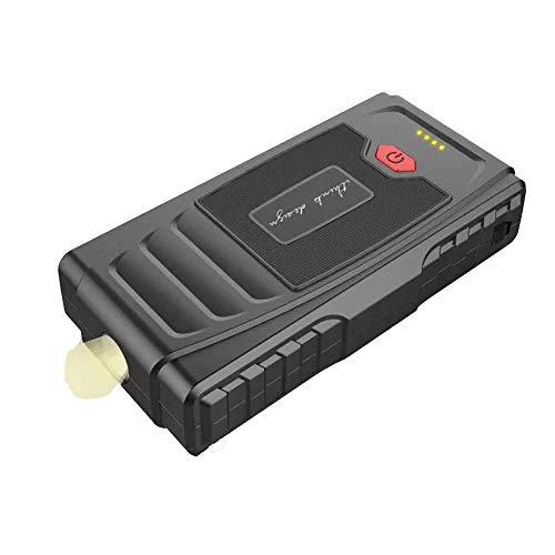WCLOC Arrancador para Coche, Arrancador PortáTil para Coche 600a Pico 12000 Mah con Carga RáPida De 2 USB, Refuerzo De BateríA De Coche De 12 V, Cargador De BateríA
