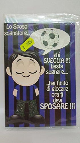 CASUALE Biglietto Auguri Inter Sposo - Mis.17X12