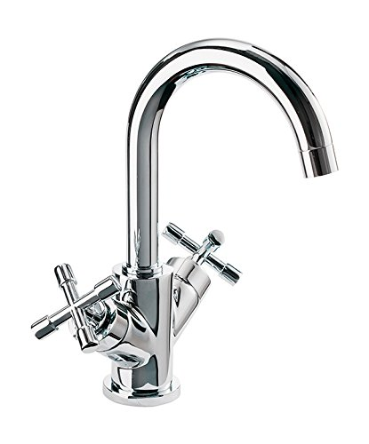 Sanitop-Wingenroth 1 78292 0, Zweigriffmischer Sydney für Waschtisch | Chrom