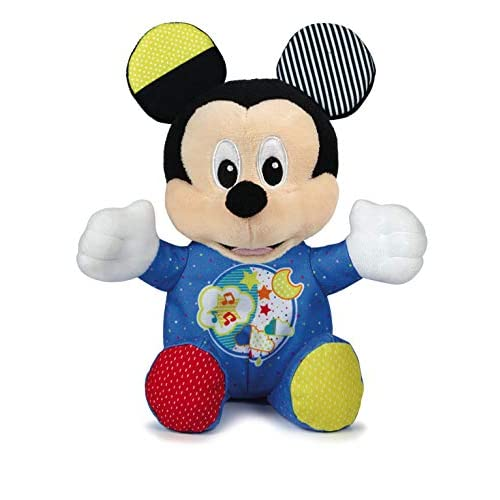 Clementoni- Baby Mickey Lightin Plush Peluche, Multicolore, 17206