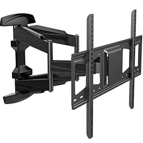 Soporte para TV, Soporte de Pared para TV, Soporte para TV inclinable y Giratorio, máx.800x500 mm para Pantallas Planas y Curvas de Plasma LCD LED de 48-70 Pulgadas de hasta 45 kg, Nivel
