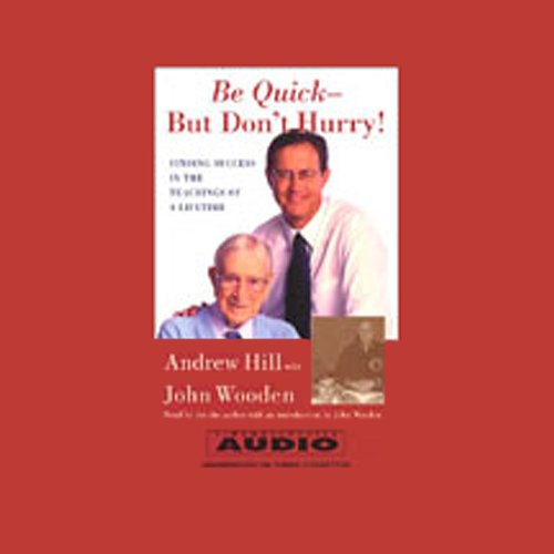Be Quick - But Don't Hurry! cover art