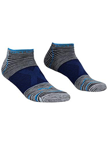 Ortovox Herren Alpinist Low Socken, Grey Blend, 45/47 (XL)