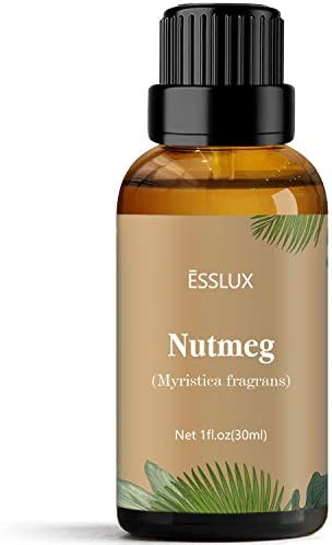 Nutmeg Essential Oil Esslux Aromatherapy Essential Oils for Diffuser Massage Perfume Candle product image