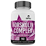 EBYSU Forskolin Complex - 180 Capsules Weight Loss & Appetite Suppressant Supplement