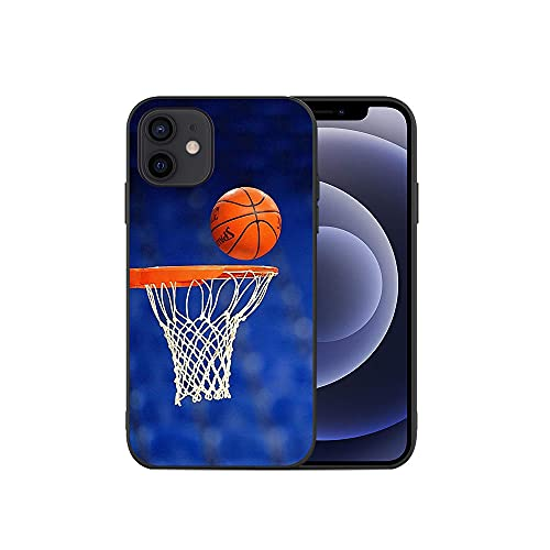 JINGJINGJIAYOU Cajas de teléfono móvil TPU Suave, Cubierta del teléfono de Baloncesto, para iPhone 11 12 Pro XS MAX Mini 7 8 6S Plus X XR-baloncesto2_iphone7 / 8