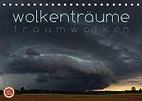 Wolkentraeume - Traumwolken (Tischkalender 2022 DIN A5 quer): 12 faszinierende Wetterstimmungen mit Traumwolken (Monatskalender, 14 Seiten )