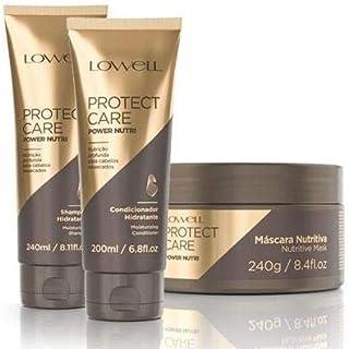 Lowell Protect Care Power Nutri - Kit 3 Produtos (sh.+cond.+masc.)