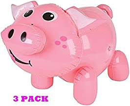 happy deals Inflatable Pigs – Set of 3 Pig INFLATES