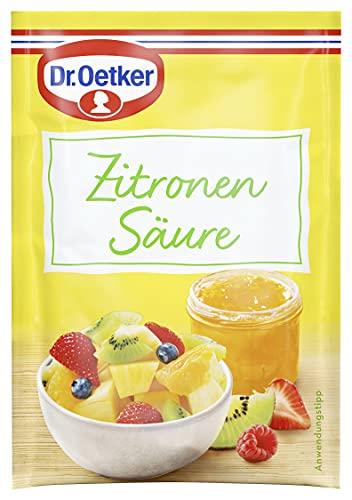 Dr. Oetker Zitronensäure, 25g
