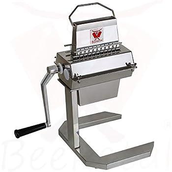 Elektrisch Schnitzelklopfer Fleischklopfmaschine Edelstahl TK-12MT Steak Maker