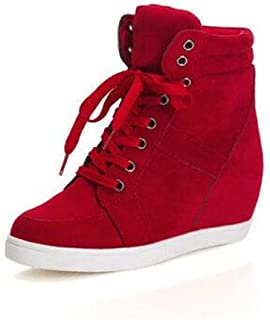 Casual Canvas Sneakers High Cut Lace Ups Fashion Shoes for 2018