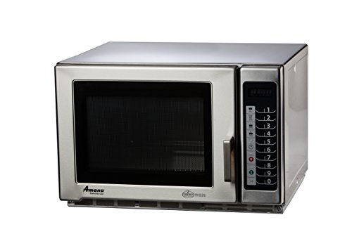 Accelerated Cooking Products RFS18TS Touch Panel Commercial Microwave Oven, Amana RFS Restaurant Line Series, 1800W
