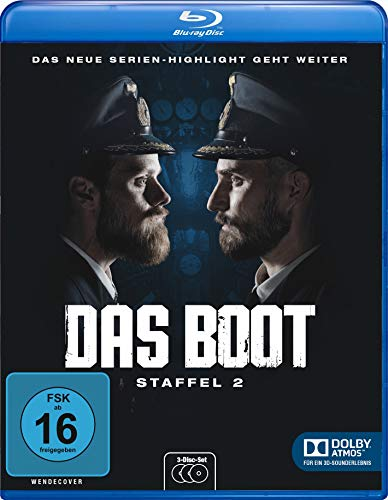 Das Boot - Staffel 2 [Blu-ray]
