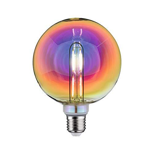 Paulmann 28774 LED Lampe Fantastic Colors G125 Globe 5 Watt dimmbar Leuchtmittel Dichroic effizientes Licht Warmweiß 2700 K E27