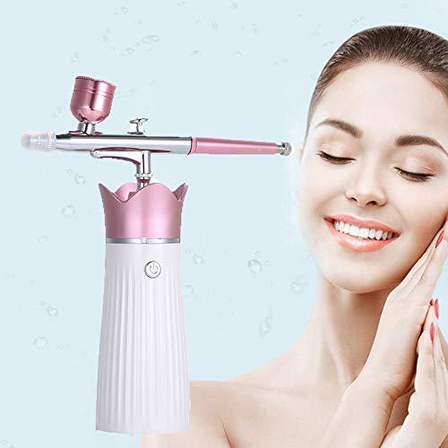 YXYOL Machine de Machine Spa Injection Eau en oxygène, Maquillage de la Peau Set Airbrush, Soins du Visage hydratant (5 ML, 20ML, 40ML Capacité Cup)