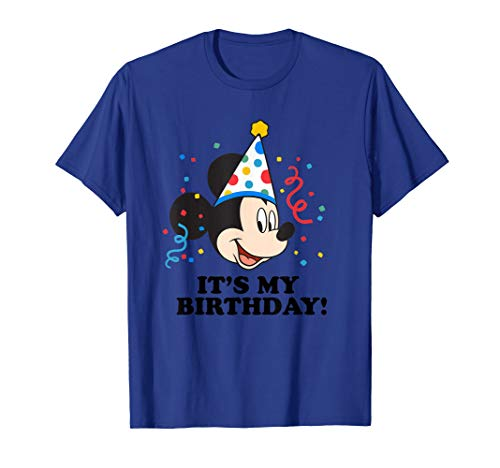 Disney Mickey Mouse It's My Birthday! T-Shirt T-Shirt