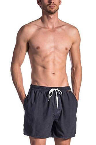 Olaf Benz Herren BLU1661 Shorts Badeshorts, Schwarz (Black 8000), Large