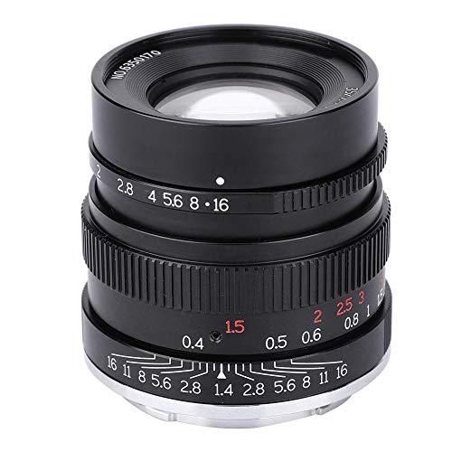 Jacksking E-Mount-Kameraobjektiv 7artisans 35mm F1.4-Vollformatobjektiv für Sony E-Mount A7 A7 A7R A7RII A7S A7SII A6500 A6300 A6000 A5100 A5000
