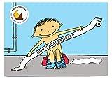 Mon Cacalendrier: livre d'apprentissage de la propreté pour enfant pour arrêter les couches et commencer sur le pot avec autocollants de pipi et caca