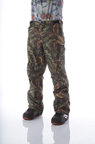 Light CERN Pantalon pour Homme-vêtement d'extérieur XL Noir - Rainforrest Pattern
