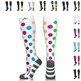 NEWZILL Compression Socks (20-30mmHg) for Men &...