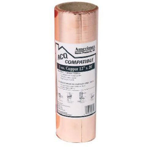 AMERIMAX HOME PRODUCTS 8506712 12-Inch x 20-Feet Copper Flashing by Amerimax Home Products