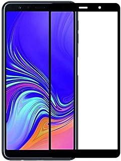 شاشة حماية خماسية الابعاد لموبايل سامسونج جالاكسي A7 2018، اسود