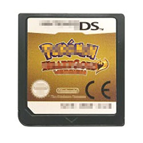 MYBHD DS Video Game Cassette Console Card Pokemon Series voor Nintendo DS (Color : HeartGold EUR)