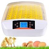 Couveuse Automatique de 56 œufs de Poules ou Canards à Affichage Digital de la température, Incubateur Automatique...