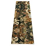 Chicken And Rooster Print Yoga Mat - Premium...