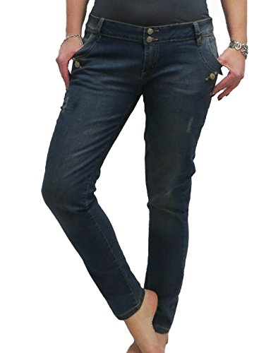 Denim wear Damen Jeans Loose FIT Jeanshose Hose Women normal Rise, Größe:40