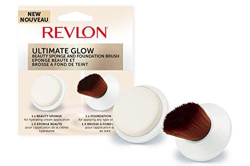 REVLON 2 Brosses Nettoyantes de Rechange pour Brosse Visage Sonique Ultimate Glow RVSP3538FB
