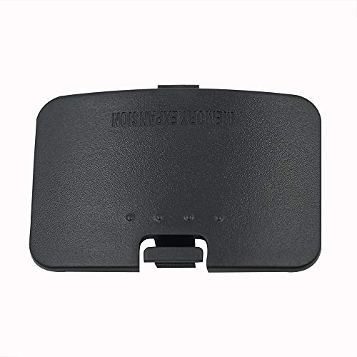 Mcbazel Expansion Card Cover Replacement for Nintendo 64 N64 - Black
