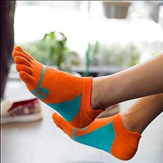 Laxuri S029 Punk Men's Socks, Pure Cotton Sports Five Finger Socks, Toe Socks