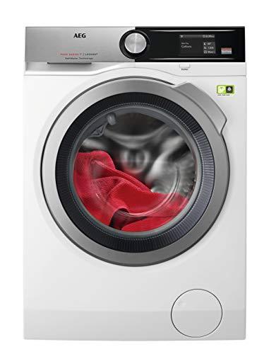 AEG L9FE96695 Waschmaschine Frontlader / 76,0 kWh / sparsamer Waschautomat mit 9 kg ProTex Schontrommel / Mengenautomatik und Dampfprogramm incl. Knitterschutz