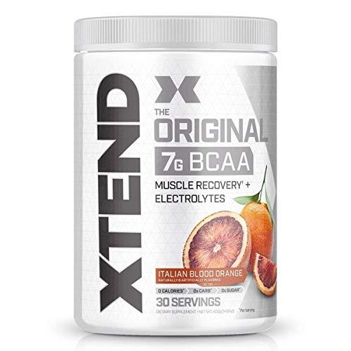 Scivation XTEND BCAA 2: 1: 1-Verhältnis Aminosäure Muskelaufbau Bodybuilding 426g (Blue Raspberry - Himmbeere)