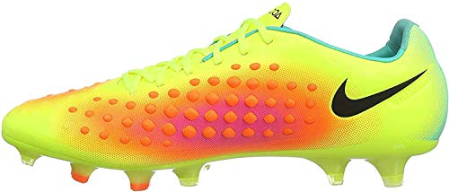 Nike Herren Magista Opus Ii Fg Fußballschuhe, UK, Amarillo (Volt / Black-Total Orange-Pink Blast), 40.5