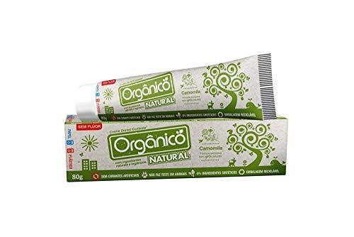 Orgânico Natural Creme Dental Orgânico Contente 80 Gramas