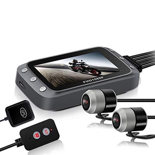 Thundeal Cámara de salpicadero DVR de 3 pulgadas FHD LCD de pantalla 2*1080 P de doble lente de cámara WiFi GPS registrador caja de visión nocturna motor grabadora de conducción