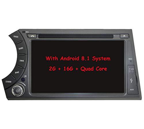 Quod Core Android Sistema 7 Pulgadas Reproductor de DVD del Coche para SsangYong Actyon Kyron con Autoradio GPS navegacioacute;n Radio esteacute;REO Bluetooth SD USB Espejo Enlace Pantalla taacute