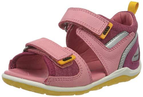 Ecco Baby Mädchen BIOMMINISANDAL Sandalen, Pink (Bubblegum 2399), 23 EU