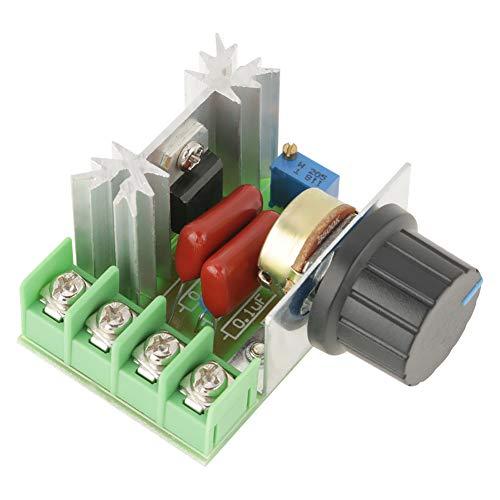Motorspannungsregler, Drehzahlregler Spannungsregler Dimmer, Regler Dimmer AC 50-220V AC Lichttemperatur Drehzahlregelung für Motor LED Dimmer