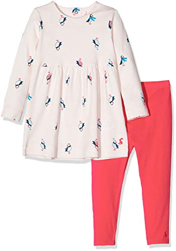 Joules Christina Ensemble, Rose (Pink Stripe Puffins Pnkstppufn), (Taille Fabricant: Up to 1M) Bébé Fille
