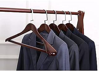Cintres en Bois vêtements Placard penderie Organisateur Cintre pour vêtements en Bois, Cintre de Costume Robuste