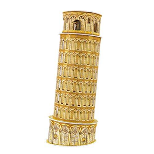 [Torre di Pisa] Bâtiment drôle Modèle Puzzle 3D Puzzle Enfants
