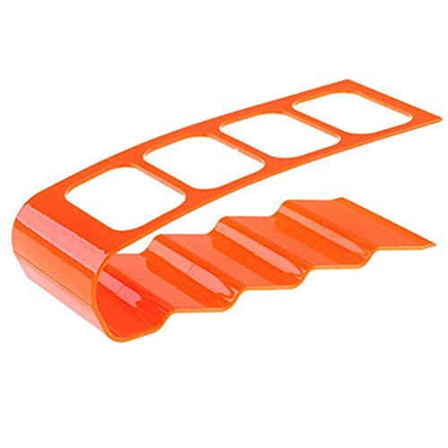Organizador de control remoto Ahorro de espacio TV Control remoto Almacenamiento Caddy Rack Tidy Remote Holder TV Remote Organizer-Orange, Estados Unidos