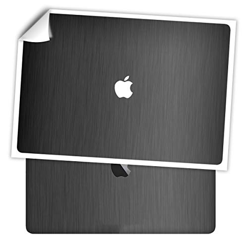 SopiGuard Sticker Skin for MacBook Pro 16' Precision Edge-to-Edge Full Body Wrap Vinyl Decal Include Top, Keyboard, and Bottom Panels (3M Brushed Gunmetal Grey)