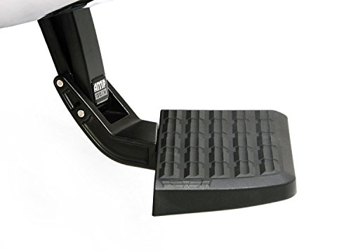 AMP Research 75324-01A BedStep Retractable Bumper Step for 2019 Ram 2500/3500