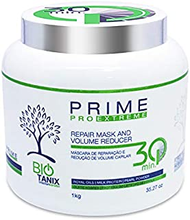 Bio Tanix Pro Extreme Repair Mask & Volume Reducer 1KG | Brazilian Keratin Treatment | Progressive Brush Hair Straightenin...